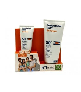 PACK FOTOPROTECTOR  GEL CREAM ISDIN SPF-50+ 200 ML + 50 ML