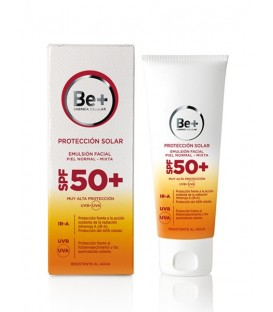 FOTOPROTECTOR EMULSION FACIAL PIELES NORMAL-MIXTA SPF50 BE+ 50 ML