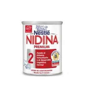 LECHE CONTINUACIÓN NIDINA 2 PREMIUM 800 G