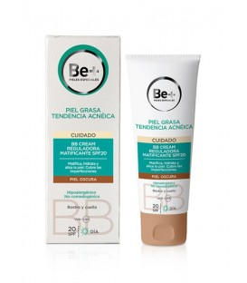 BB CREAM REGULADORA MATIFICANTE SPF20 PIEL GRASA Y OSCURA BE+ 40 ML