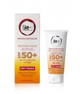 GEL FACIAL CON COLOR PIEL GRASA BE+ SPF 50+  50 ML