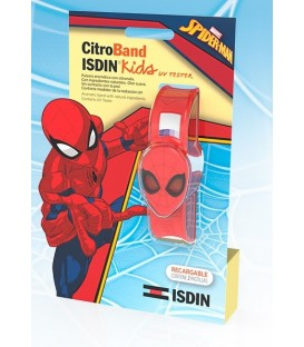 PULSERA SPIDERMAN CITROBAND ISDIN KIDS + UV TESTER
