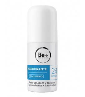 DESODORANTE SIN ALUMINIO 24H BE+ 50 ML
