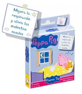 PARCHES BALSÁMICOS PEPPA PIG FLUIRES TIP 5 UDS