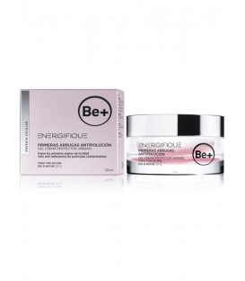 BE+ ENERGIFIQUE PRIMERAS ARRUGAS ANTIPOLUCION GEL CREMA 50 ML