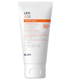CREMA LETI AT4 DEFENSE FACIAL SPF50+ 50ML