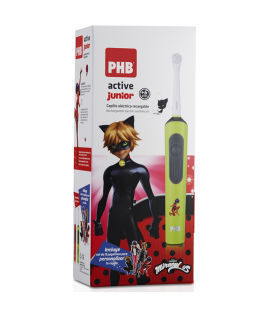 CEPILLO DENTAL ELECTRICO PHB ACTIVE JUNIOR VERDE LADYBUG