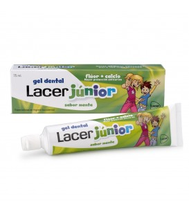 GEL DENTAL LACER JUNIOR 75 ML MENTA 6 - 12 años