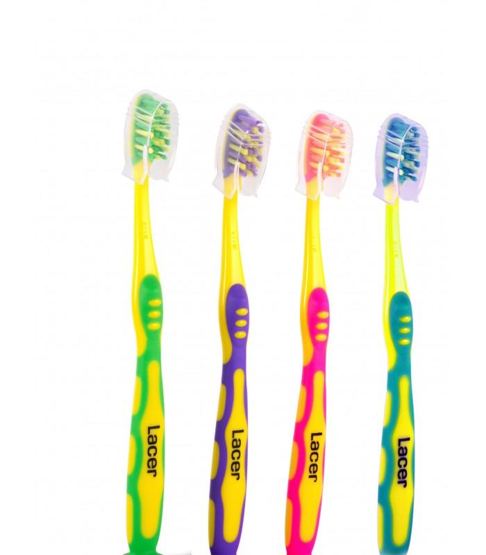 Cepillo de dientes lacer junior para la limpieza bucal de los jóvenes e66e85b14f4d