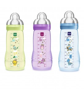 BIBERÓN MAM BABY BOTTLE EASY ACTIVE T SILICONA +4 M 330 ML