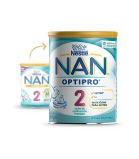 LECHE NAN OPTIPRO 2 DUPLO 2 X 800 G