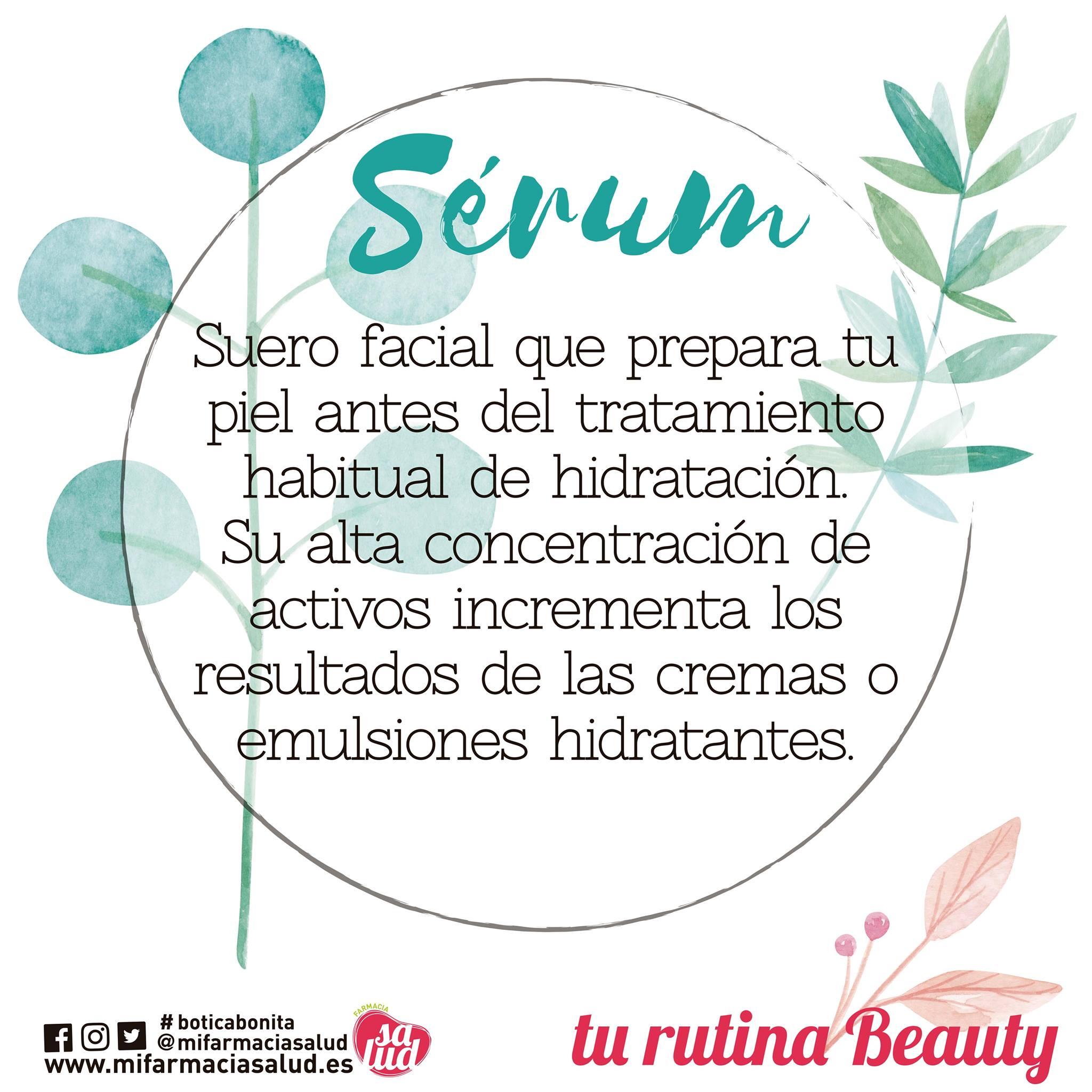 El serum multiplica los beneficios del resto de tu tratamiento de belleza