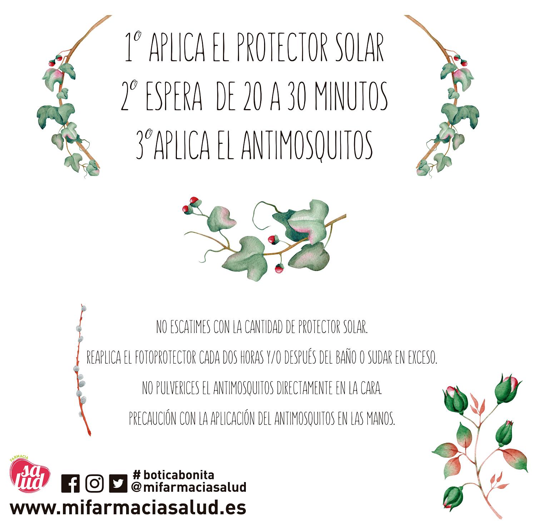 Fotoprotección y antimosquitos
