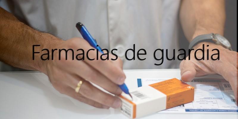Farmacias de guardía
